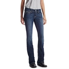 Ariat Women's R.E.A.L. Boot Cut Rosy Whipstitch Jean - Lakeshore