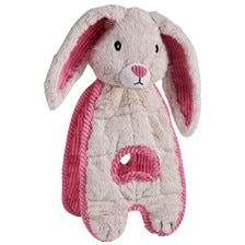 Cuddle Tugs Blushing Bunny Dog Toy