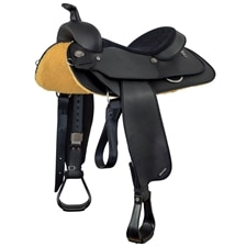 Wintec New Frontier Semi QH Synthetic Saddle