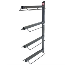 4 Arm Saddle Rack Wall Mount