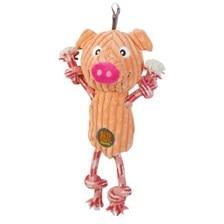 Ranch Roperz Pig Dog Toy