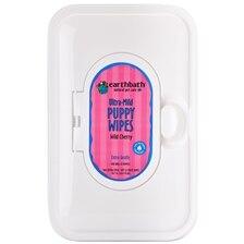 earthbath® Puppy Wipes-Wild Cherry