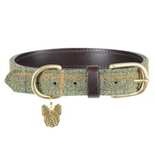 Shires Digby & Fox Tweed Dog Collar