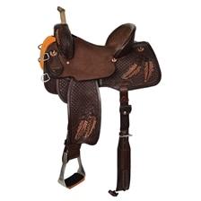 Reinsman Team Camarillo Fine Feathers Barrel Saddle