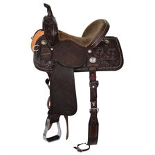 Reinsman Molly Powell Vintage Cowgirl Barrel Saddle