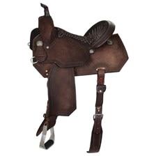 Reinsman Charmayne James Barrel Saddle - Chocolate Roughout