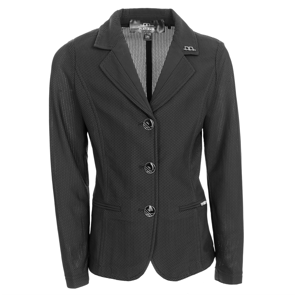 Childs Kerrits KIDS Competitors Koat Show Jacket All Sizes Black w//White