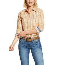 Ariat Women's R.E.A.L Kirby Stretch Shirt - Arizona Peach