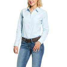Ariat Women's R.E.A.L Kirby Stretch Shirt - September Sky