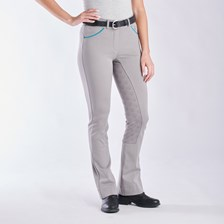 Piper Knit Mid-rise Boot Cut Breeches by SmartPak - Full Seat