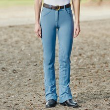 Piper Knit Mid-rise Boot Cut 2.0 Breeches by SmartPak - Knee Patch