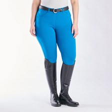 Piper Knit Mid-rise Breeches by SmartPak - Knee Patch