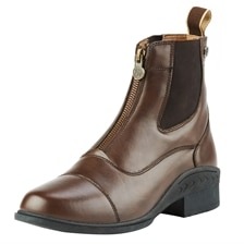 Ovation® Ladies Synthetic Leather Quantum Zip Paddock Boot