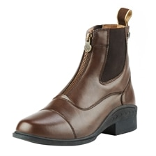 Ovation® Child's Synthetic Leather Quantum Zip Paddock Boot