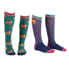 Shires Everyday Tall Boot Socks 2-Pack