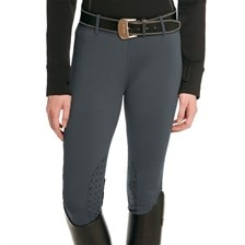 Ovation Girls' Equinox Silicone Knee Patch Tight