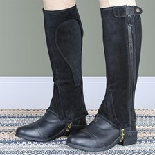 Moretta Adult Suede Half Chaps