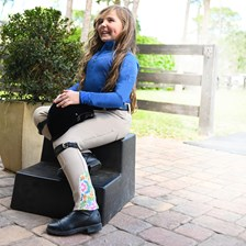 Ovation Girl's Endura Pull On Knee Patch Tight