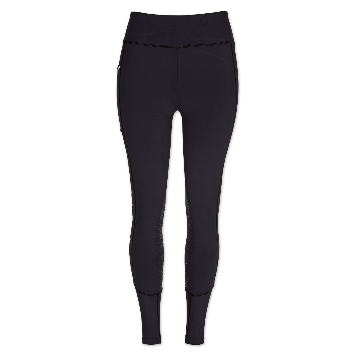 Shires Aubrion Stanmore Womens Riding Tights Navy Blue