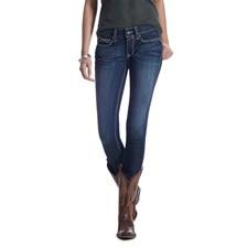 Ariat Women's R.E.A.L. Mid Rise Skinny Jeans Ella - Celestial