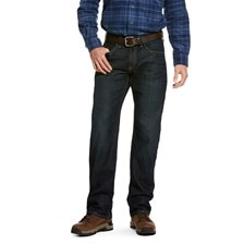 Rebar M5 Slim DuraStretch Edge Stackable Straight Leg Jean - Ironside