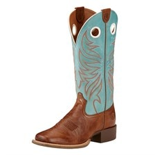 Ariat Women's Round Up Ryder Western Boot - Sky Blue