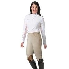 Romfh Daniella Derby Side Zip Knee Patch Breeches
