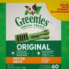 Greenies™ Dental Treat Value Tub- Petitie