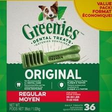 Greenies™ Dental Treat Value Tub- Regular