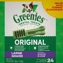 Greenies&rtrade; Dental Treat Value Tub- Large