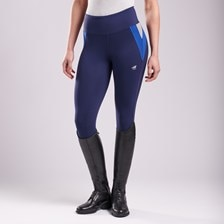 Piper Colorblock Riding Tights by SmartPak - Knee Patch