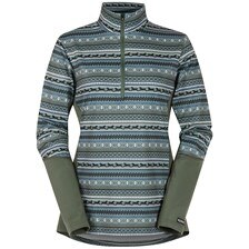 Kerrits Fair Isle Fleece 1/4 Zip Tech Top