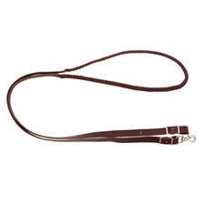 Wildfire Saddlery Plait Leather Roping Reins