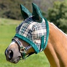 Kensington Fly Mask with Ears and Fleece Trim