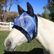 Kensington Fly Mask with Ears and Fleece Trim