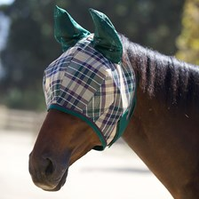 Kensington Fly Mask with Ears and Web Trim