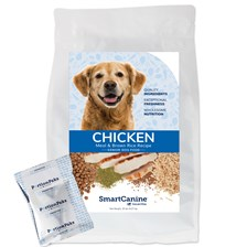 SmartCanine™ Chicken Meal and Brown Rice Senior Dog Food