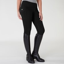 Piper Mid-Weight Fleece Tight by SmartPak - Knee Patch