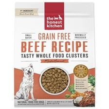 The Honest Kitchen® Grain Free Whole Food Clusters - Beef Recipe