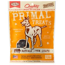 PRIMAL™ Dry Roasted Buffalo Liver Snaps