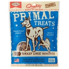 PRIMAL™ Freeze-Dried Turkey Liver Munchies