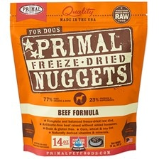 PRIMAL™ Freeze-Dried Beef Nuggets Dog Food