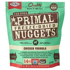 PRIMAL™ Freeze-Dried Chicken Nuggets Dog Food