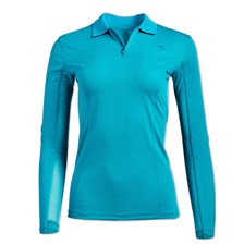 Piper UV Tech Long Sleeve 1/4 Zip Polo