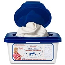 Betty's Best Skin & Coat Grooming Cloth Wipes