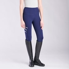 Piper Reflective Tights by SmartPak - Knee Patch