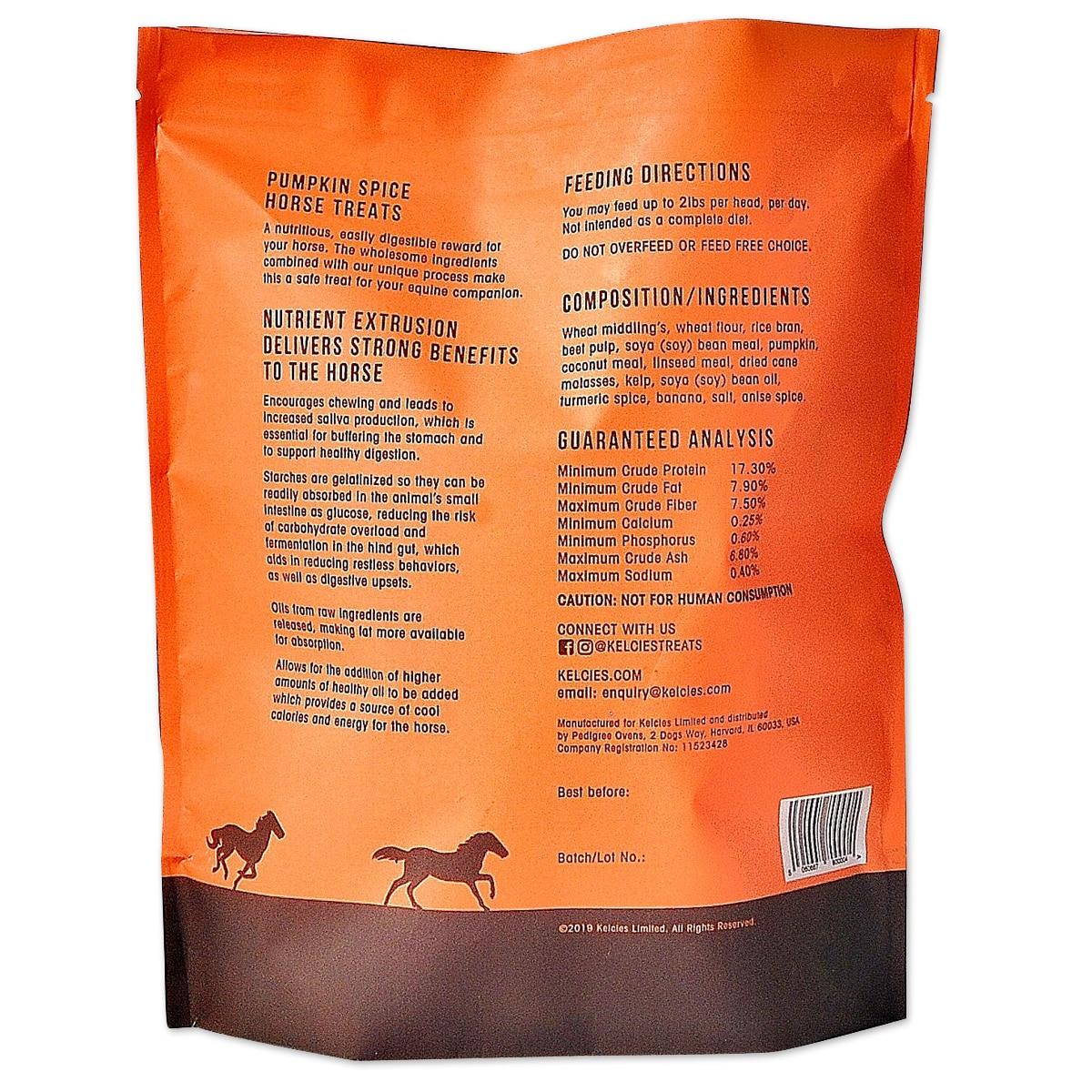 Kelcie S Pumpkin Spice Horse Treats