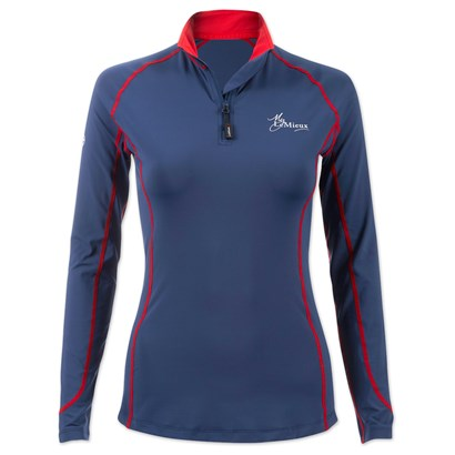 LeMieux Long Sleeve 1/4 Zip Base Layer