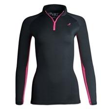 Piper SmartCore™ Long Sleeve 1/4 Zip Breast Cancer Awareness Sun Shirt by SmartPak