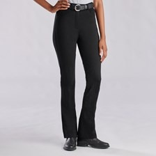Piper Knit High-Rise Boot Cut Breeches by SmartPak - Knee Patch